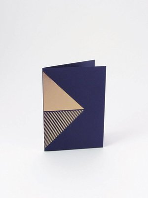 Tom Pigeon Tom Pigeon Reflex Cards Brass - Navy