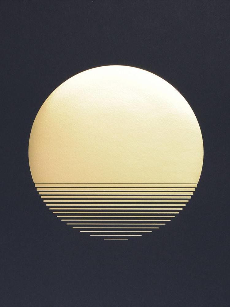 Tom Pigeon Tom Pigeon 'Sol' Dusk Print - A3