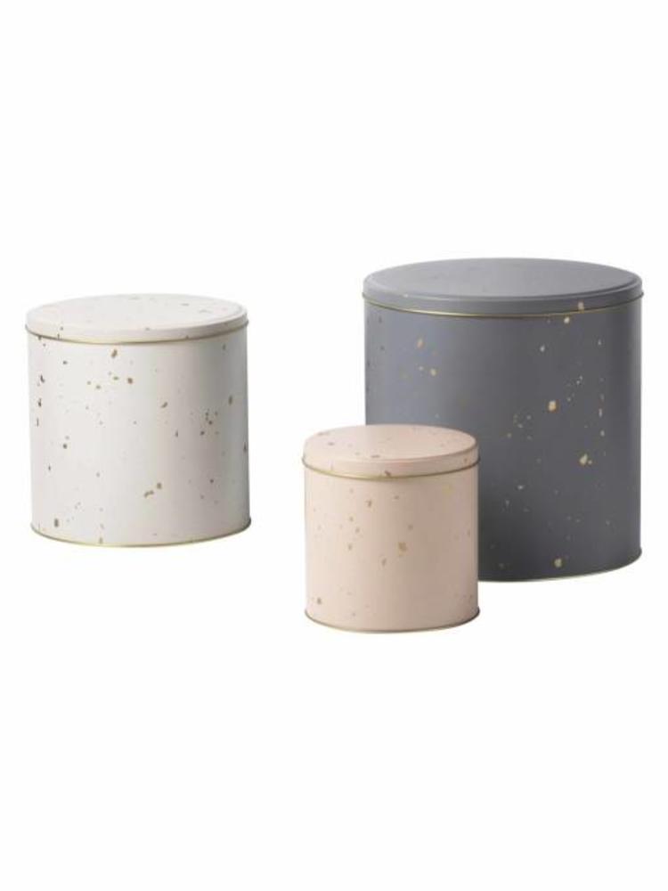 ferm LIVING Ferm Living Confetti Tin Boxes (Set of 3)