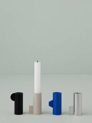 ferm LIVING EX-DISPLAY HALF CANDLEHOLDERS