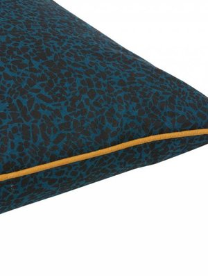 ferm LIVING Terrazzo Cushion - Dark Blue