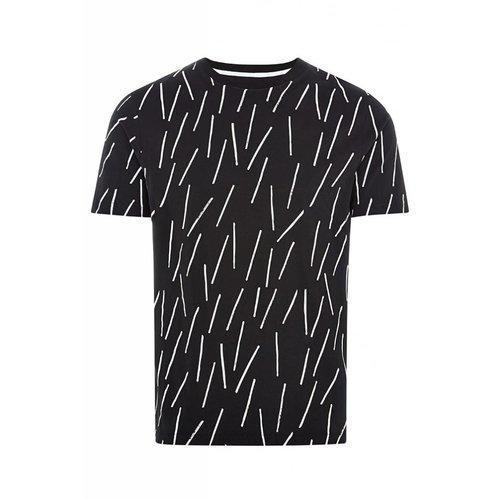 HYMN London BOOMSTICK Drumstick Print T-Shirt - Black