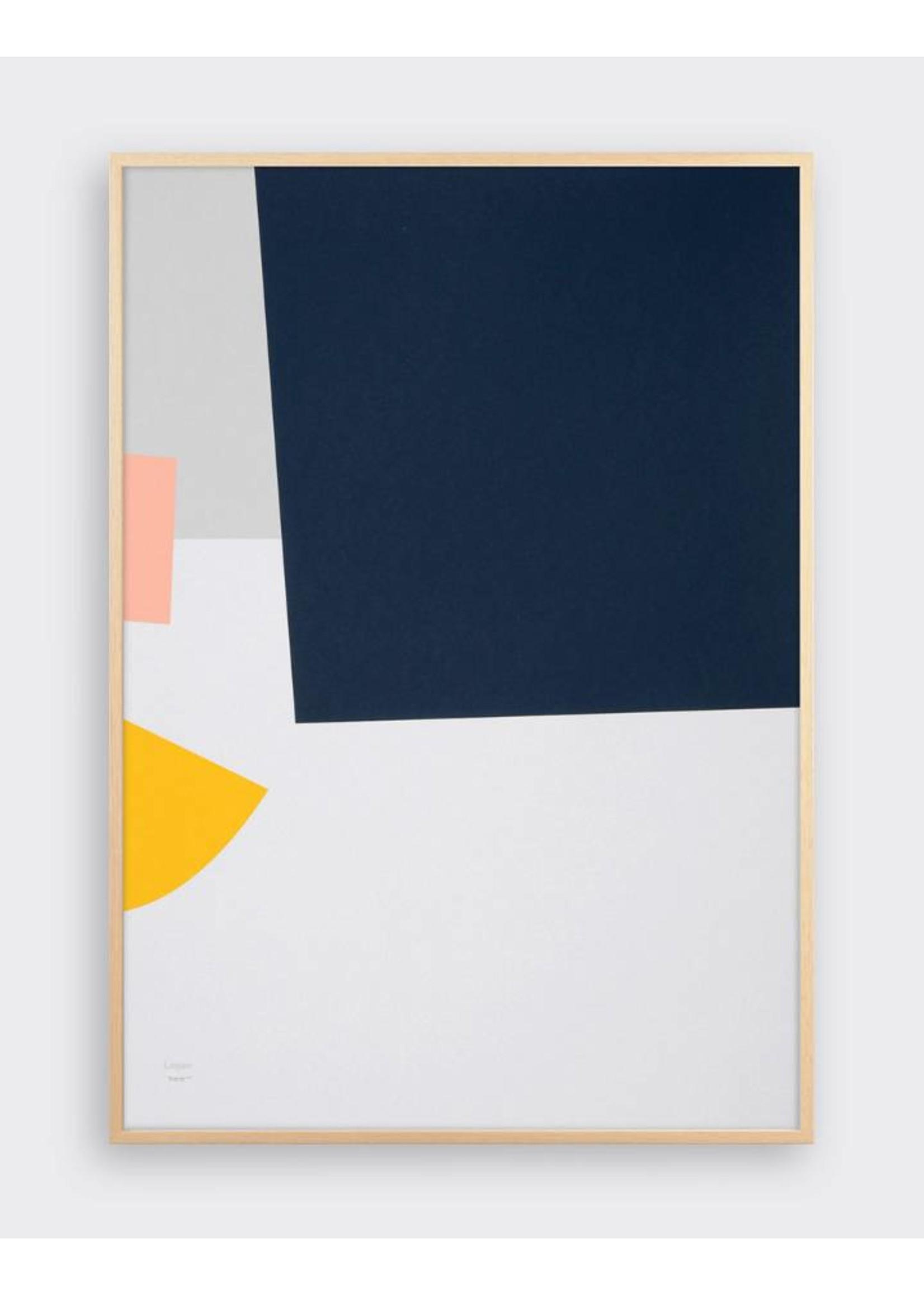 Tom Pigeon Tom Pigeon 'Lagan' Shipwreck Print - A2