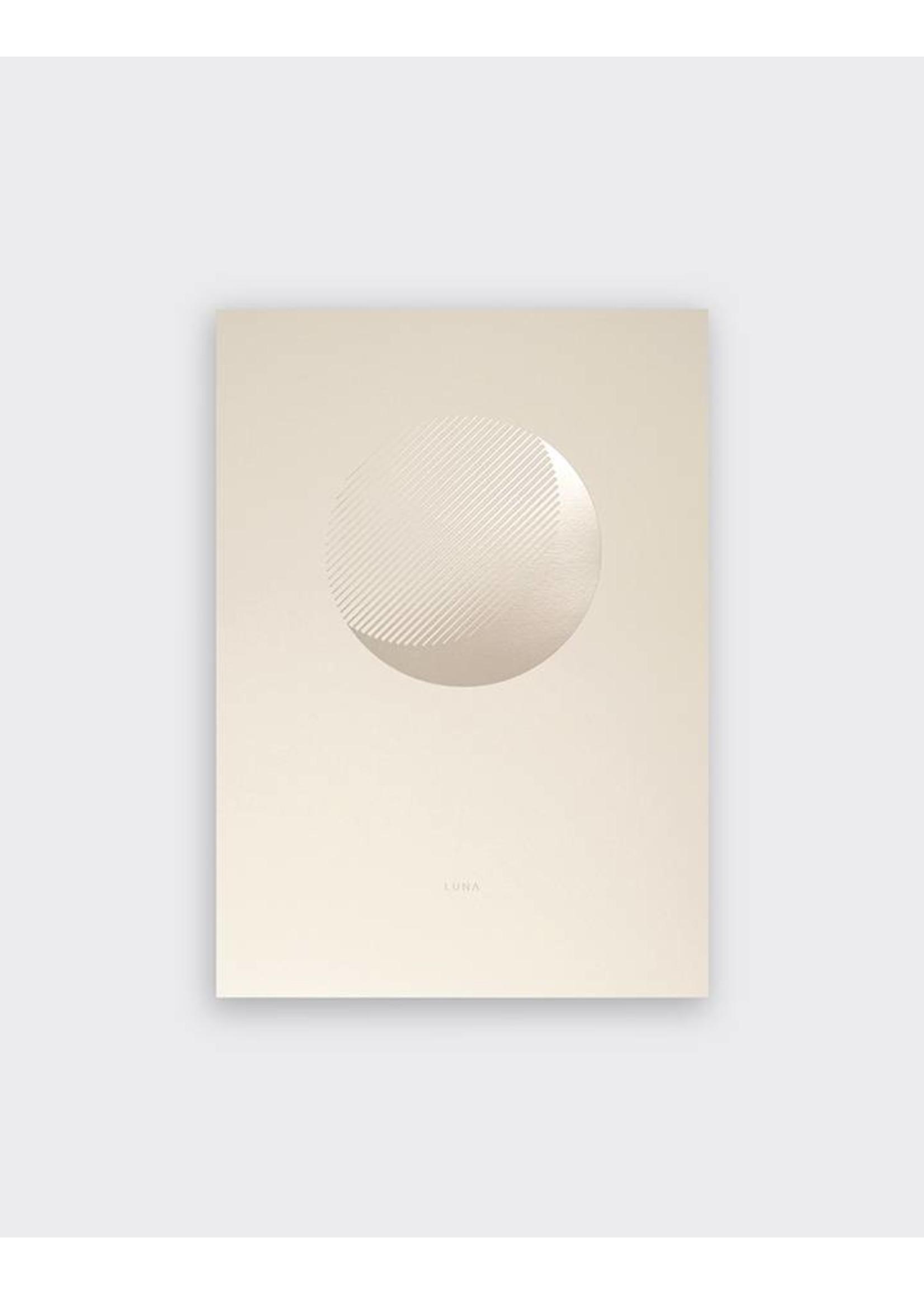 Tom Pigeon Tom Pigeon 'Luna' Dawn Print - A3