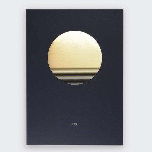 Tom Pigeon 'Sol' Dusk Print - A3