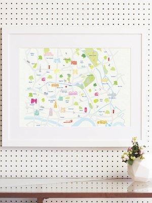 Holly Francesca Holly Francesca Map of East London A3