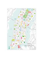Holly Francesca Map of New York City A3