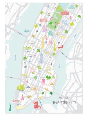 Holly Francesca Holly Francesca Map of New York City A3