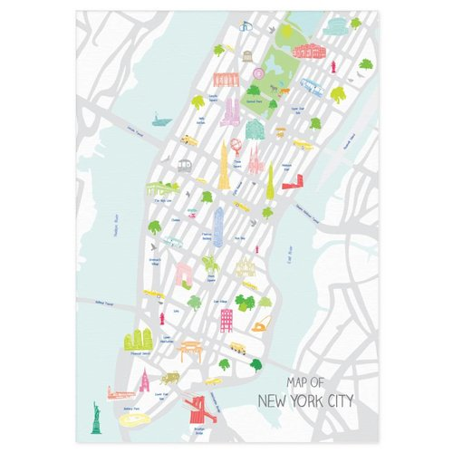Holly Francesca Map of New York City A3