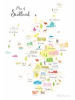 Holly Francesca Map of Scotland A3