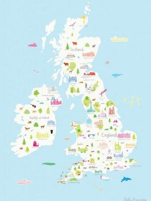 Holly Francesca Holly Francesca Map of the UK A3