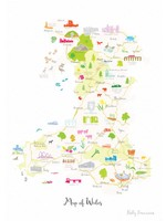 Holly Francesca Map of Wales A3