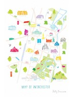 Holly Francesca Map of Winchester A3