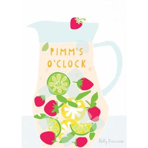 Holly Francesca Pimm's o'Clock A4