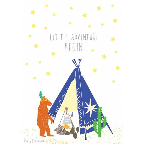 Holly Francesca Tipi Bear Adventure A4