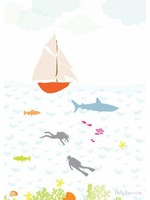 Holly Francesca Under the Sea Print - A4