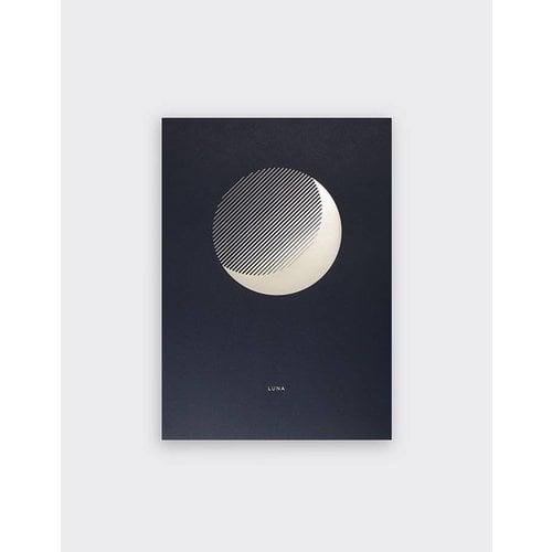 Tom Pigeon 'Luna' Dusk Print - A3