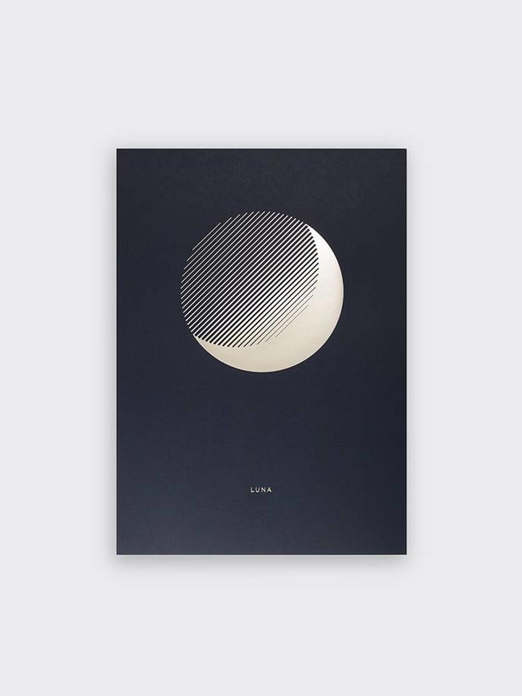Tom Pigeon Tom Pigeon 'Luna' Dusk Print - A3