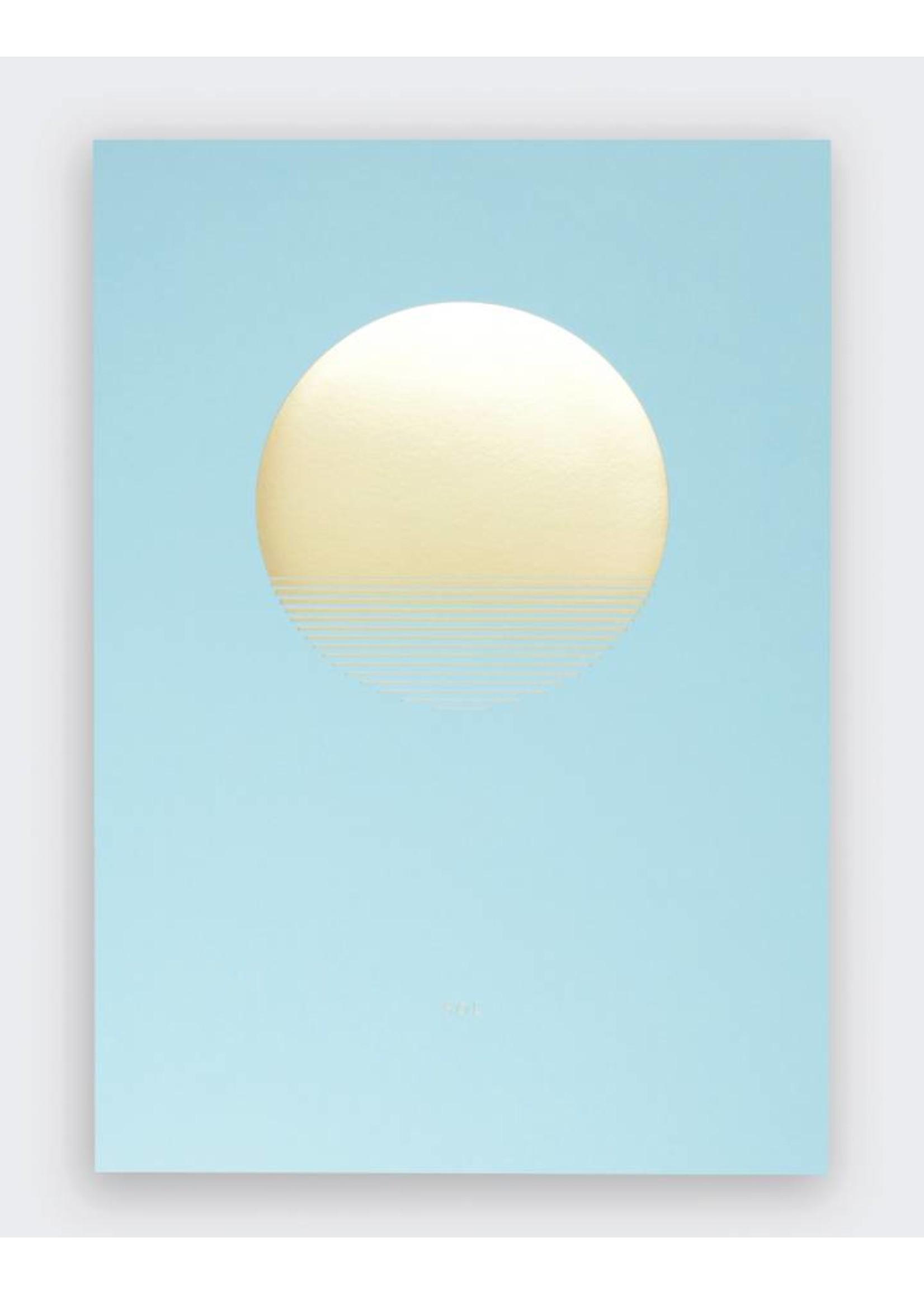 Tom Pigeon 'Sol' Day Print - A3