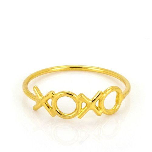 Laura Gravestock Written Hugs and Kisses Ring