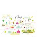 Holly Francesca Map of Edinburgh A3