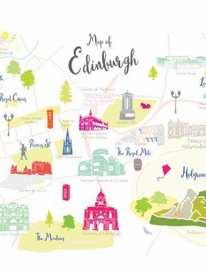 Holly Francesca Holly Francesca Map of Edinburgh A3