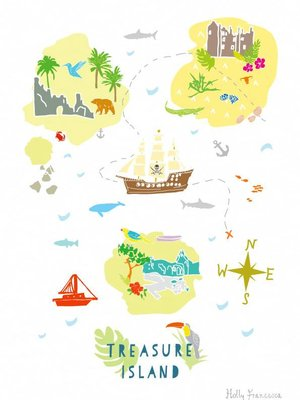 Holly Francesca Treasure Island Map - A4