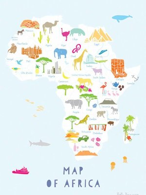 Holly Francesca Holly Francesca Map of Africa - A3