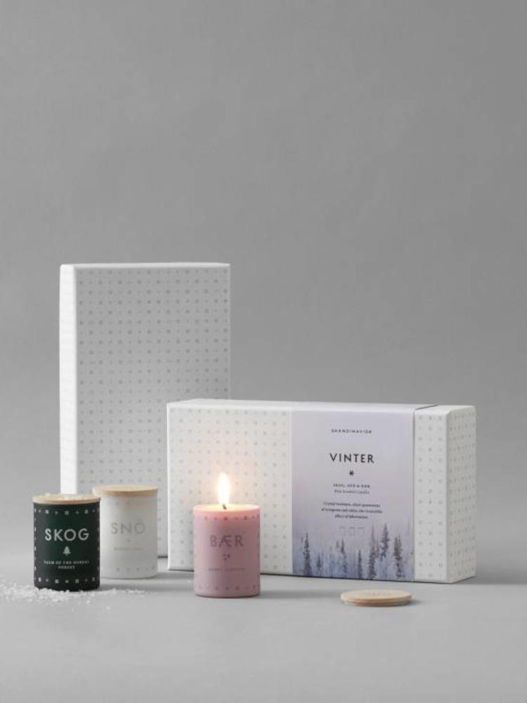 SKANDINAVISK SKANDINAVISK VINTER Mini Candle Gift Set
