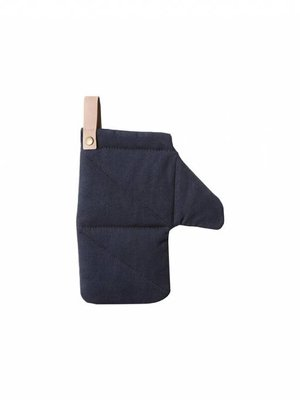 ferm LIVING Canvas Oven Mitt - Blue