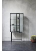 ferm LIVING Haze Vitrine Cabinet - Wired Glass
