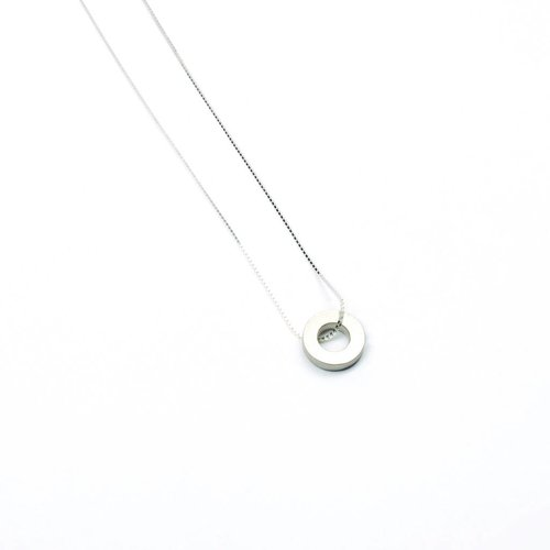 Tom Pigeon Béton Pendant Necklace