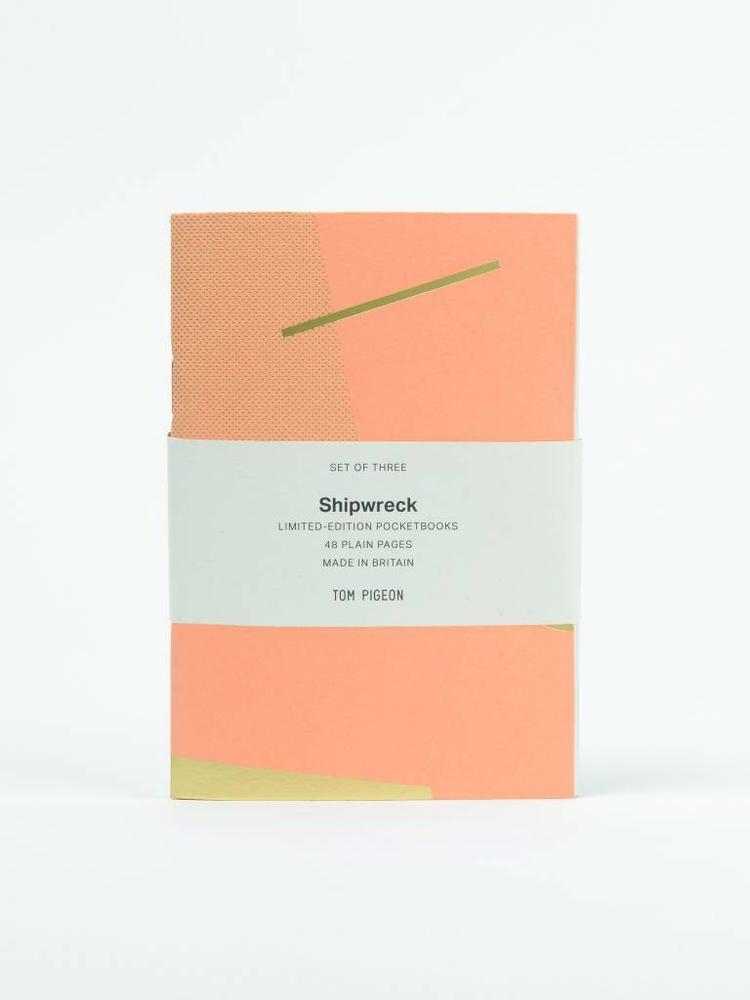 Tom Pigeon Tom Pigeon Shipwreck Pocketbook Set of 3