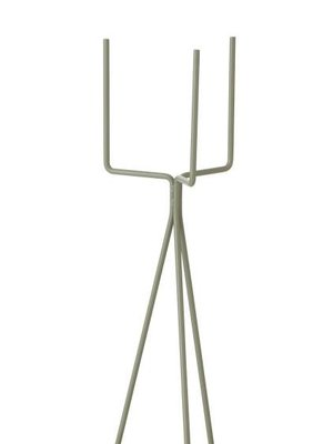 ferm LIVING Plant Stand - Small - Dusty Green