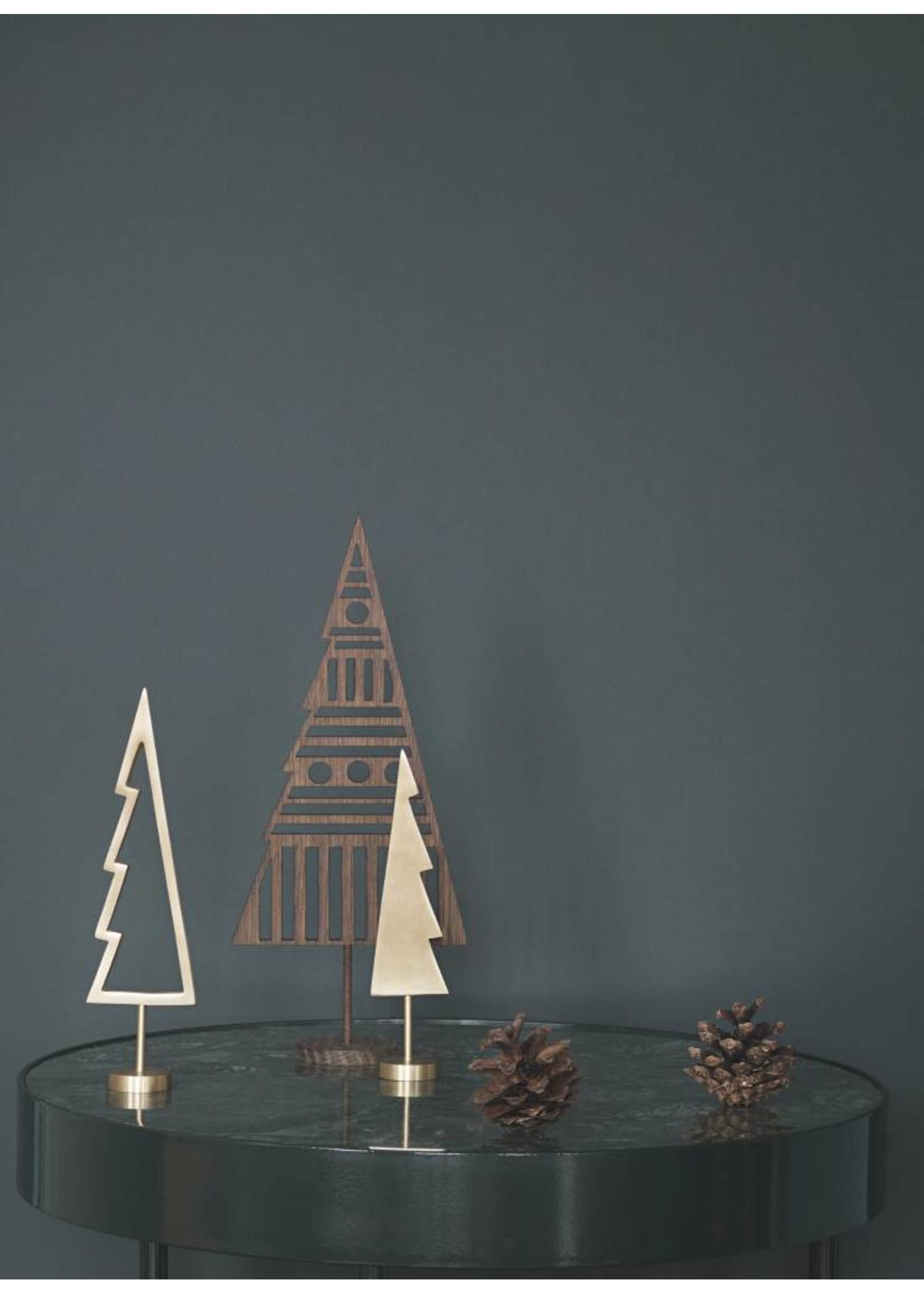 ferm LIVING Ferm Living Winterland Brass Tree - Solid