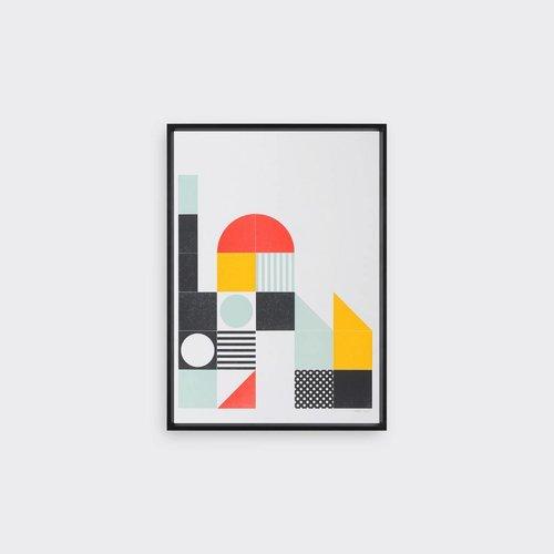 Tom Pigeon Play Letterpress Print - B (A3)
