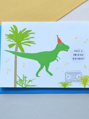 Holly Francesca Holly Francesca Have a Rocking Birthday Card