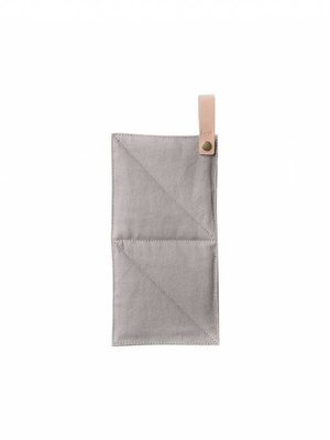 ferm LIVING Canvas Pot Holder - Grey