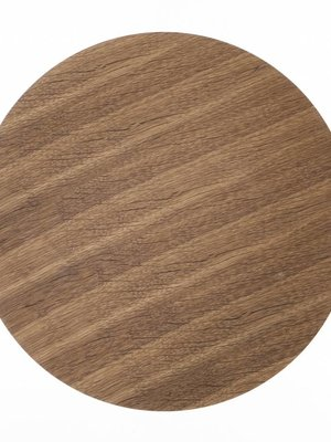 ferm LIVING Wooden Top Smoked Oak Small