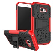 GSMWise Samsung Galaxy A5 (2017) Stevig Hybride Backcover Hoesje Shockproof - Rood