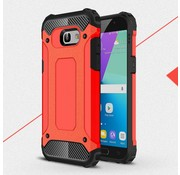 GSMWise Samsung Galaxy A5 (2017) Stevig Hybride Beschermhoesje Backcover Shockproof - Rood