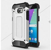 GSMWise Samsung Galaxy A5 (2017) Stevig Hybride Beschermhoesje Backcover Shockproof - Zilver