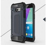 GSMWise Samsung Galaxy A5 (2017) Stevig Hybride Beschermhoesje Backcover Shockproof - Donker Blauw