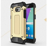 GSMWise Samsung Galaxy A5 (2017) Stevig Hybride Beschermhoesje Backcover Shockproof - Goud
