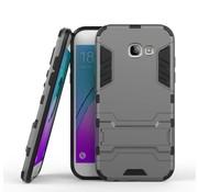 GSMWise Samsung Galaxy A5 (2017) Ultra Hybride Hardcase Hoesje met standaard - Grijs