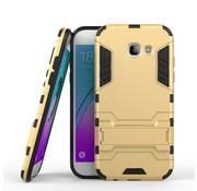 GSMWise Samsung Galaxy A5 (2017) Ultra Hybride Hardcase Hoesje met standaard - Goud