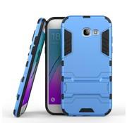 GSMWise Samsung Galaxy A5 (2017) Ultra Hybride Hardcase Hoesje met standaard - Aqua Blauw
