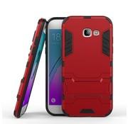 GSMWise Samsung Galaxy A5 (2017) Ultra Hybride Hardcase Hoesje met standaard - Rood