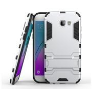 GSMWise Samsung Galaxy A5 (2017) Ultra Hybride Hardcase Hoesje met standaard - Zilver