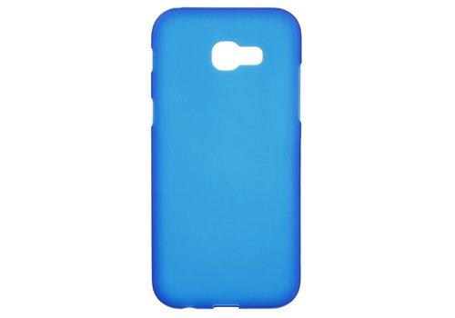 Samsung Galaxy A5 (2017) Zachte Frosted TPU Hoesje Anti-slip Back Case - Mat Blauw